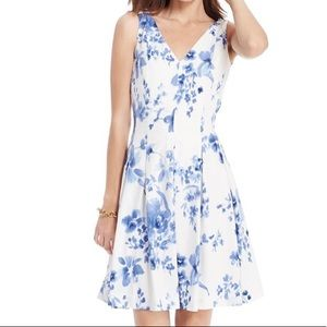 NWT Ralph Lauren Floral Pleated Dress sz 16